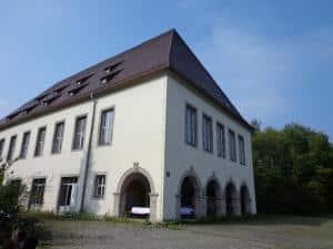Das Wahrzeichen der einstigen Nibelungenkaserne: Der Koalition gilt das Areal jetzt als Aushängeschild für die Bemühungen um bezahlbaren Wohnraum. Foto: Archiv