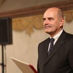 Hans Schaidinger bekam am Samstag die Ehrenbürgerwürde verliehen. Fotos: ld.