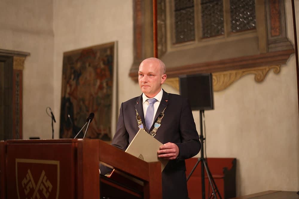 Konflikt per Pressemitteilung beendet: Joachim Wolbergs. Foto: Archiv/ Liese