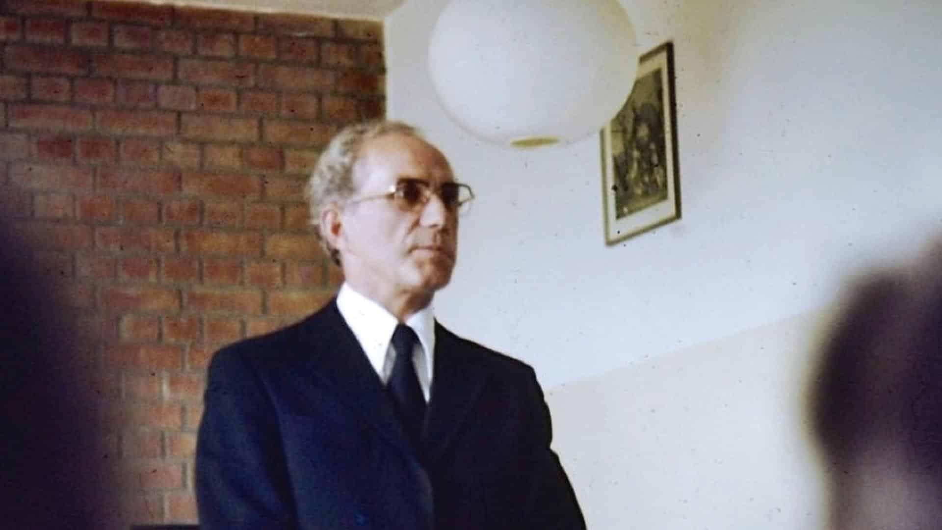 Johann Meier: Direktor an der Vorschule in Ettertzhausen: ein Gewaltäter. Foto: SWR/ Mona Botros