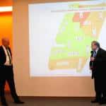 Sind sich bislang in Sachen stadtbau nicht einig: Joachim Wolbergs und Norbert Hartl. Fotos: as
