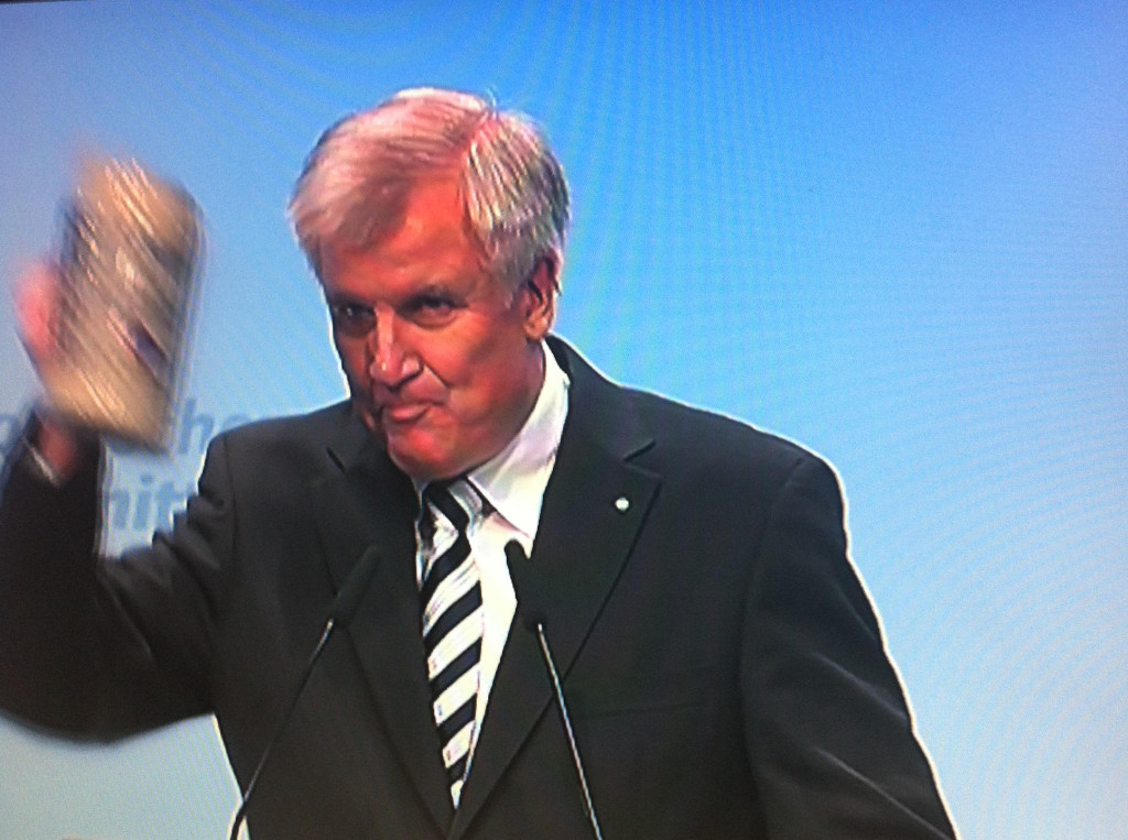 Die leibhaftige Verkörperung dessen, was sich (bei der Landtagswahl 2013) 2.882.169 bayerische Wahlberechtigte herbeisehnten. Foto: Archiv