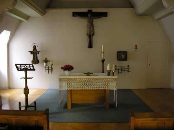 Nachts sexueller Missbrauch, morgens Gottesdienst: die Kapelle in der Dompräbende. Foto: privat