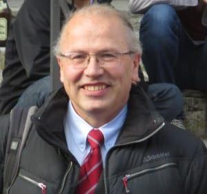 Spielte trotz Abwesenheit erneut eine unrühmliche Rolle: Bistumssprecher Clemens Neck. Foto: Archiv/ as