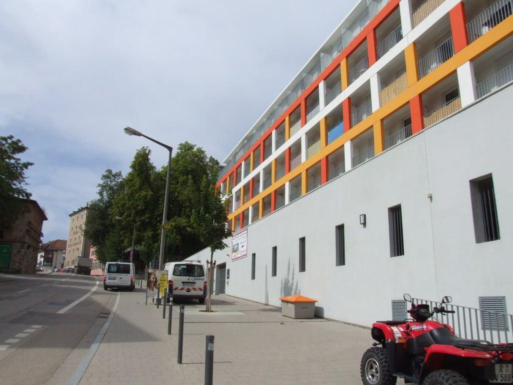 Ob UNIcentro, UNIkato oder UNIsono (im Bild): Bei Lambert werden stets rund 13 Euro pro Quadratmeter fällig. Foto: Archiv
