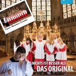 "Prust! Die ""zugegebenermaßen etwas verkürzte Werbebotschaft""... Bild: Regensburg Tourismus GmbJ"