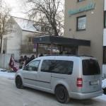 Diie Asylunterkunft in der Grunewaldstraße: Der mutmaßliche Täter muss am Donnerstag raus. Foto: Archiv/ as