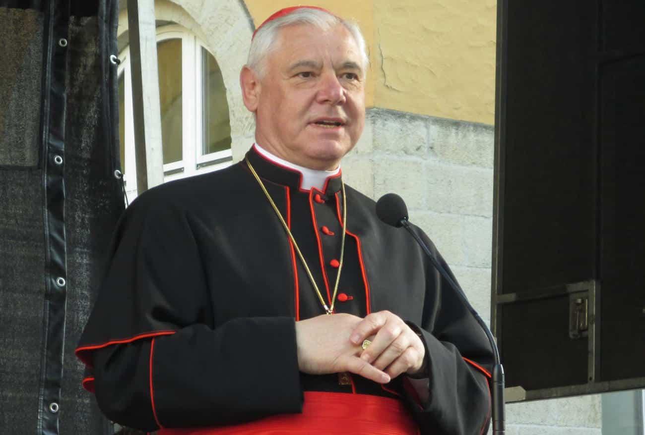 Gab sich als brutalstmöglicher Aufklärer: Kardinal Müller. Foto: Archiv/ as