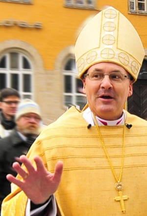 Bischof Rudolf Voderholzer. wirbt um Vetrauen. Foto: Archiv/ Staudinger