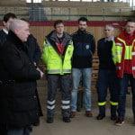 """Klare Regeln und intensive Betreuung"""": Wolbergs' Rezept für die städtischen Notunterkünfte. Foto: Archiv/ Liese"""