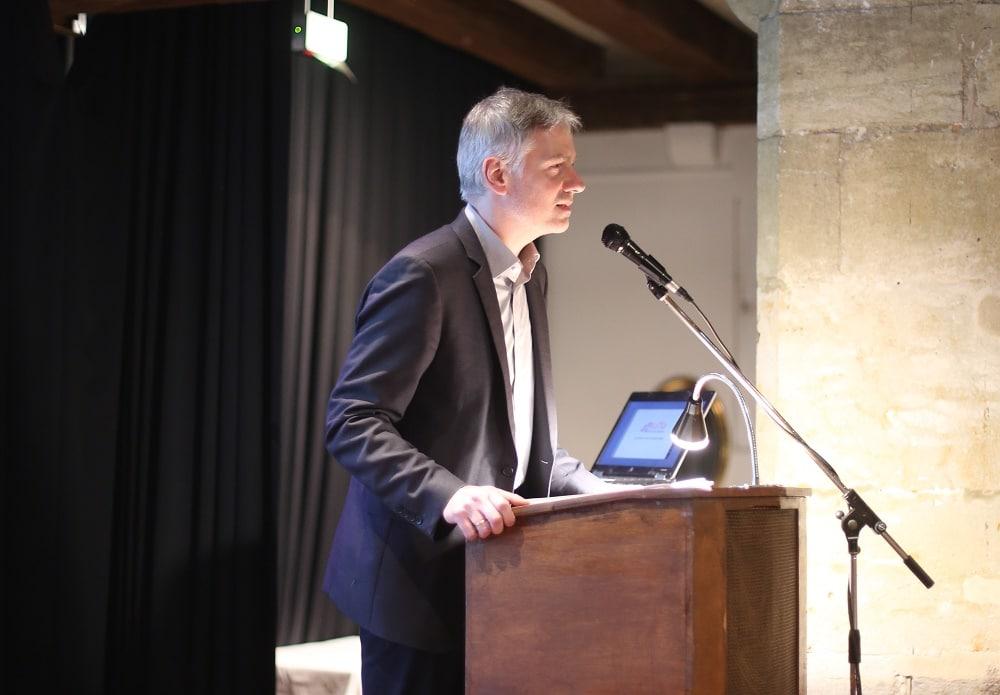 Hielt ein kurzes, aber gehaltvolles Inputreferat zum Kulturbegriff: Prof. Christian Zürner von der OTH.