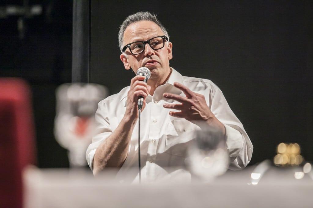 Künstler und Kochethnologe: Arpad Doriban.
