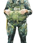"""Ein Bild aus Schaidingers Soldaten-Tagen. Wegen seiner Leidenschaft fürs Fallschirmspringen war er bei den US-Streitkräften als """"Chute Joe"""" bekannt."""