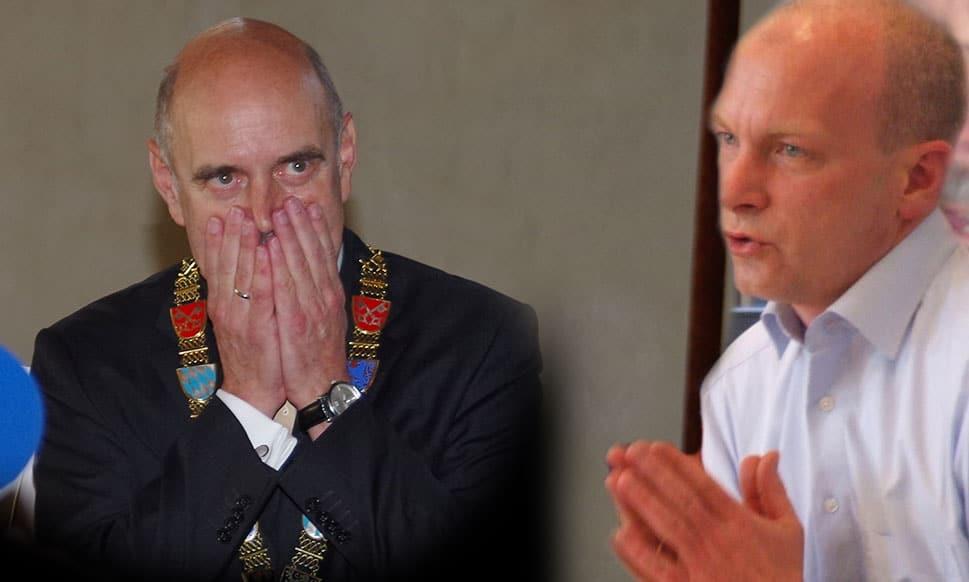 Der eine will rein, der andere nicht raus: Hans Schaidinger und Joachim Wolbergs streiten öffentlich um 12.000 Euro jährlich.