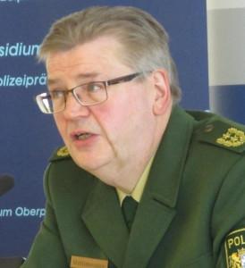 """Polizeipräsident Mahlmeister: """"Das soll keine Negativbewertung sein, sondern nur eine Beschreibung."""""""