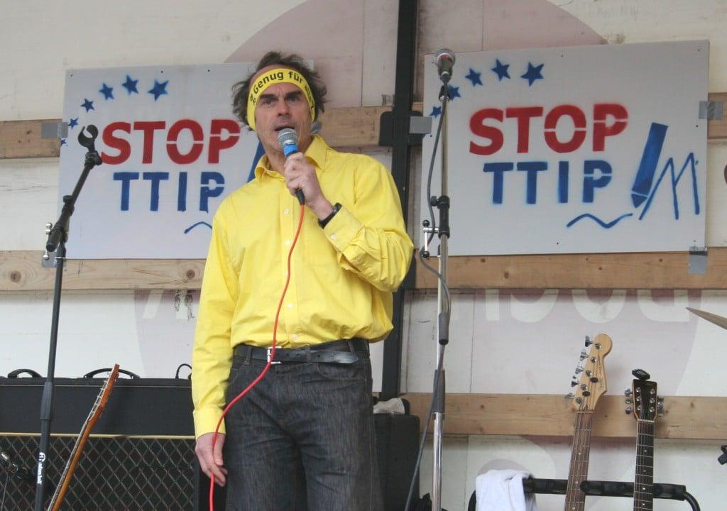 """Harald Klimenta: """"Freihandelswahn stoppen."""""""