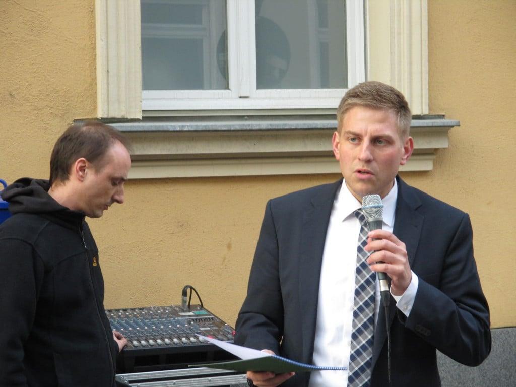"""""""Widerstand war möglich"""", sagt Peter Lorenz-Uttenhofer von den Zeugen Jehovas. Foto: as"""