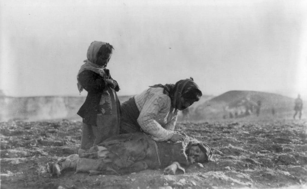 Armenische Flüchtlinge in Syrien, 1915. Foto: Wikimedia Commons