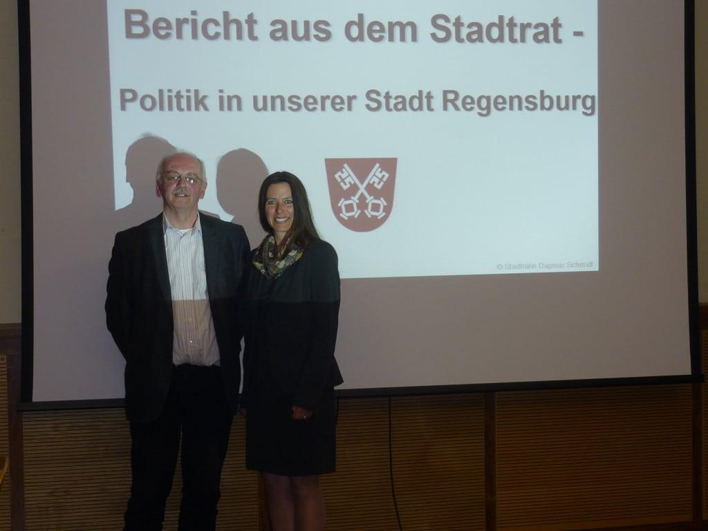 Andreas Gnad, Dagmar Schmidl. Bild: Maria Gnad / PM.