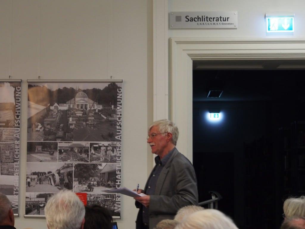 Stadtheimatpfleger Werner Chrobak versucht nach wie vor, die Bürger-Legende zu verteidigen. Foto: wr
