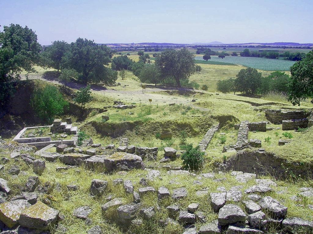 """Die """"Troja"""" – Ausgrabungsstätte und UNESCO-Welterbe in        der Türkei Foto: Wikicommons©CherryX"""