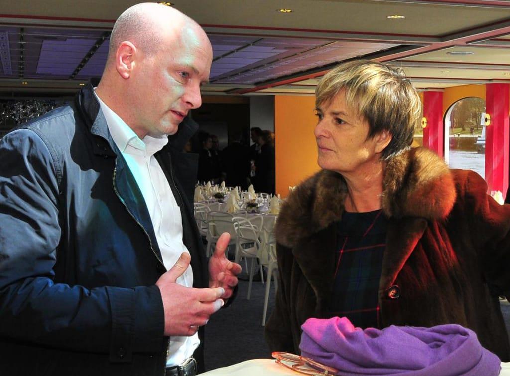 """Unterzeichneten vergangene Woche einen """"Letter of Intent"""": Oberbürgermeister Joachim Wolbergs und Gloria von Thurn und Taxis. Foto: Archiv/ Staudinger"""
