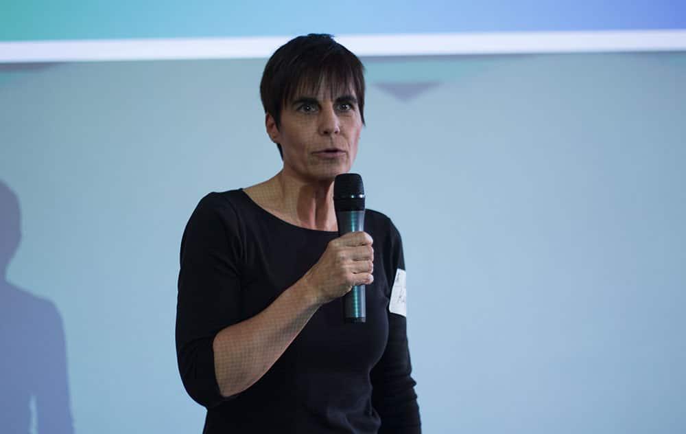 Stellte das kreativForum vor: Carola Kupfer.