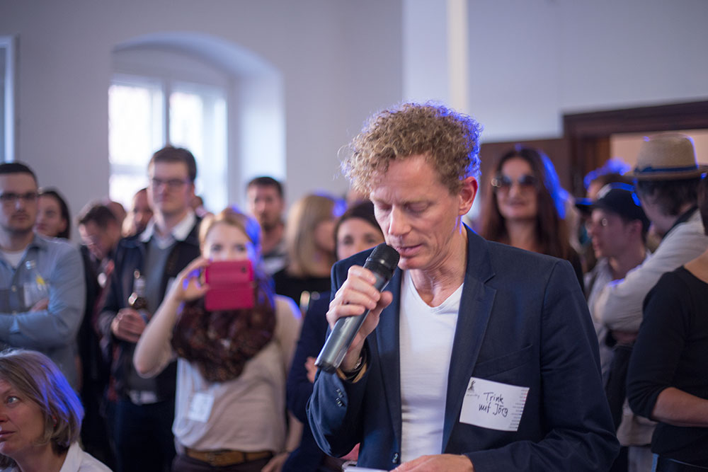 """""""Wir wollen Potenziale sichtbar machen"""": Jörg Roscher vom kreativForum."""