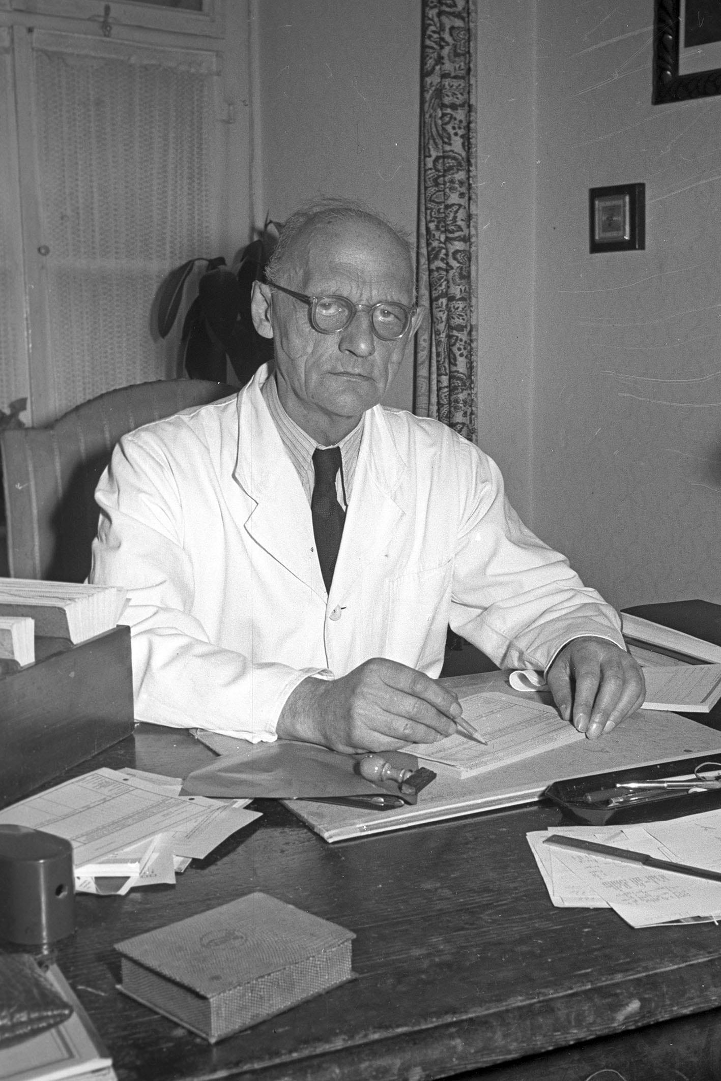 Der frühere Nazi-Oberbürgermeister Otto Schottenheim 1955. Foto: Stadt Regensburg