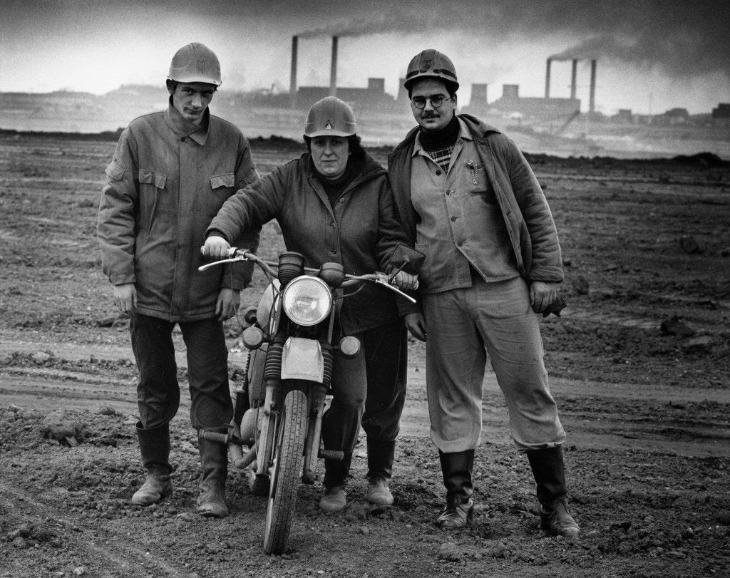 S.Moses_Arbeiter im Tagebau.1990