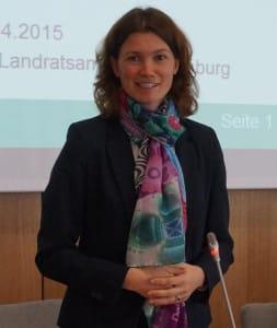 Auch Landrätin Tanja Schweiger weist eine persönliche Verantwortung von sich. Foto: pm