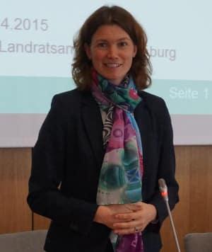 Reagierte nicht auf Spirks Schreiben: Landrätin Tanja Schweiger. Foto: pm