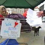 """Eine Petition, deren Wortwahl und Auftreten die Entscheider provoziert: """"Das Michlstift muss bleiben!"""". Foto: privat"""