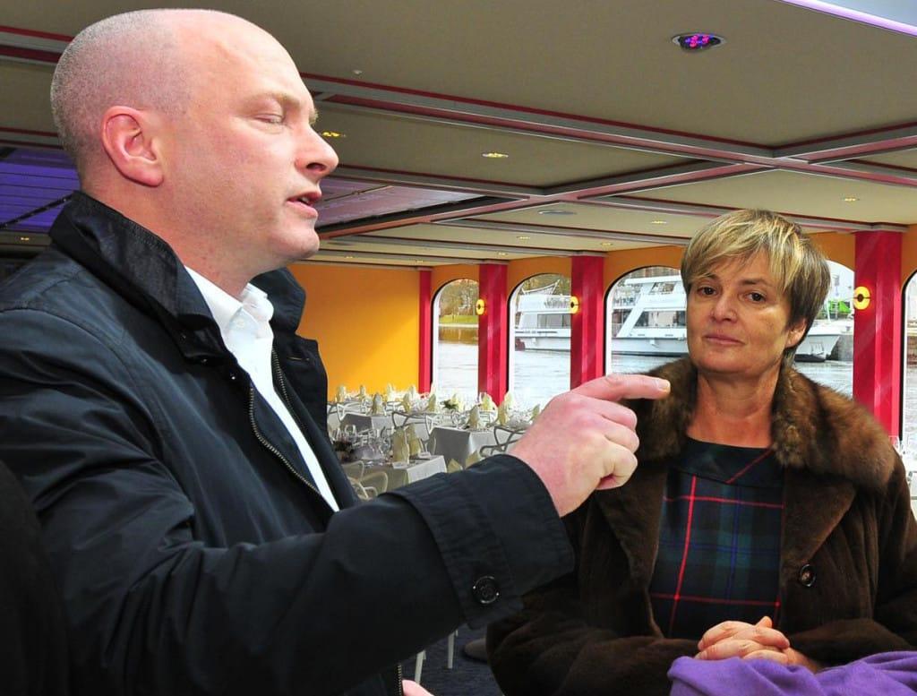 Mit geschickten Verhandlungsmethoden zum Ziel - oder doch nicht: OB Wolbergs und Gloria von Thurn und Taxis. Foto: Archiv/ Staudinger
