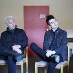 Pat Thetic (l.) und Justin Sane von Anti-Flag waren am Mittwoch in Regensburg. Foto: ld.
