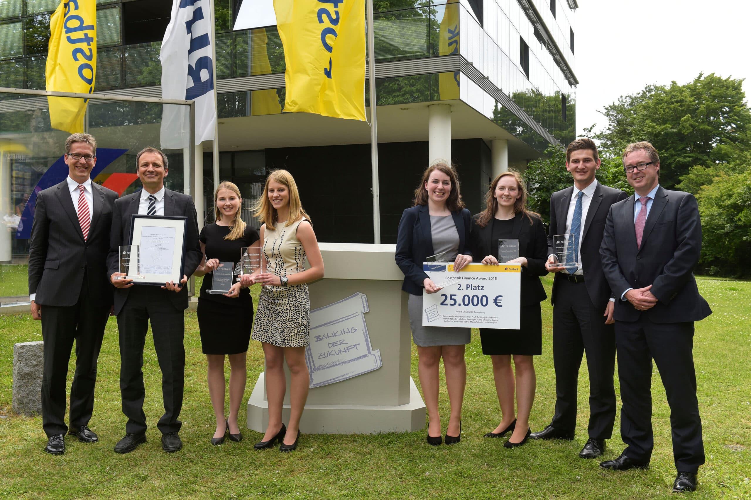 postbank finance award 2 platz f r regensburg regensburg digital. Black Bedroom Furniture Sets. Home Design Ideas