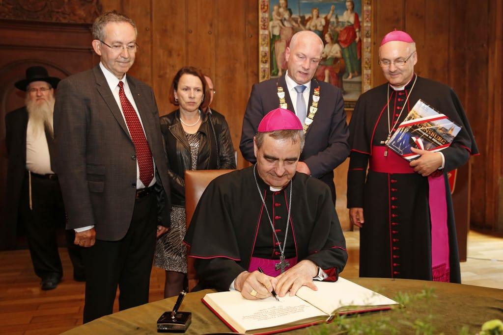 OB empfängt Apostolischen Nuntius (2)
