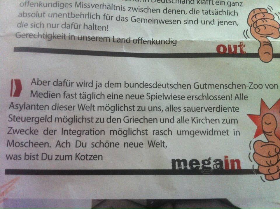 Mal eben ein bisschen hetzen: die neue Ausgabe der Stadtzeitung.