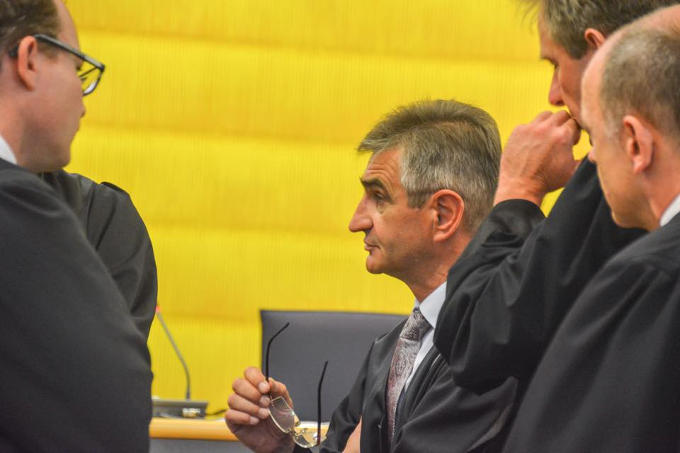 Wortführerschaft unter den Verteidigern: Helmut Mörtl. Foto: Witzgall