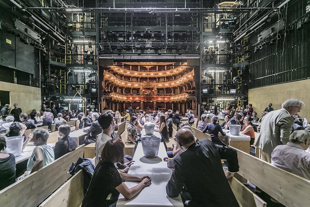 Mitmachoper Hans Heiling: Kreativ, aber nicht organisch. Foto: Jochen Quast, Theater Regensburg.