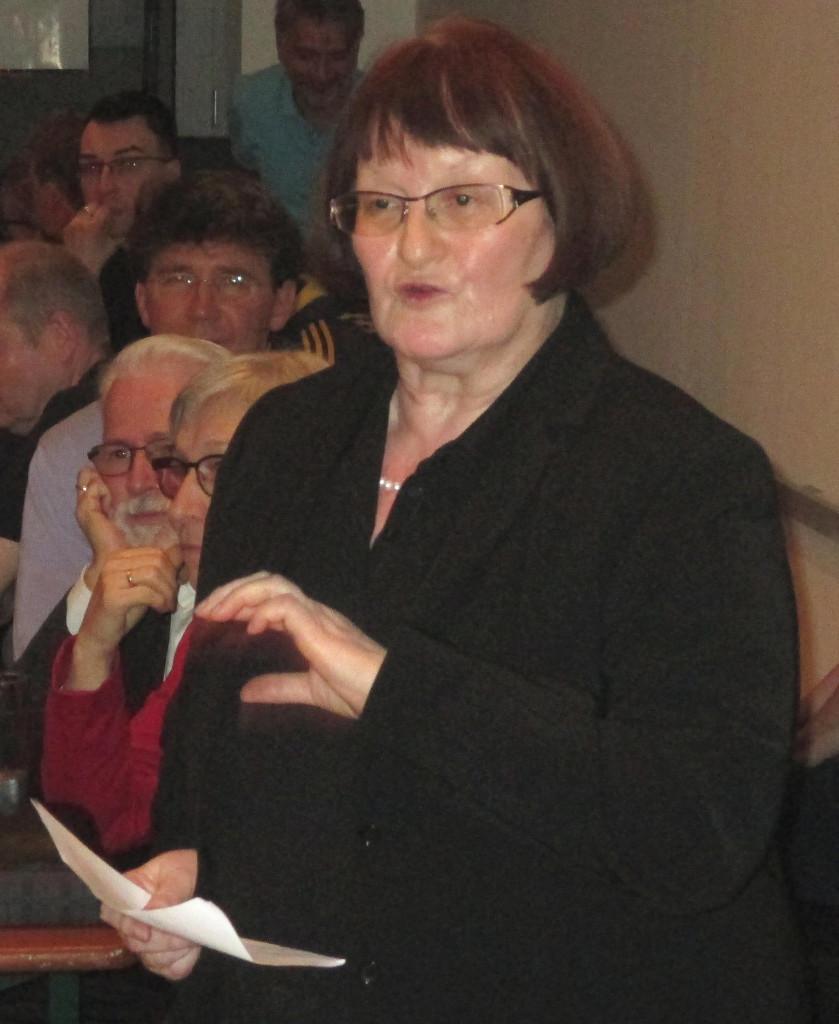 """""""Grüne sind keine besseren Menschen."""" Stadträtin Margit Kunc."""