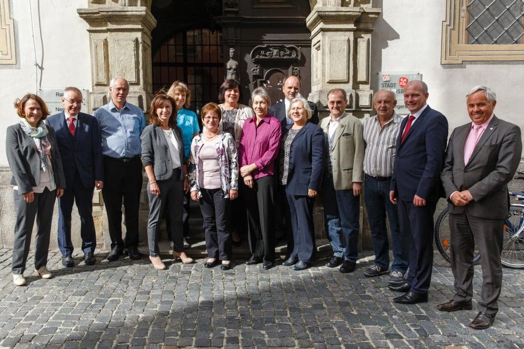 Stadt ehrt ihre Dienstjubilare - September