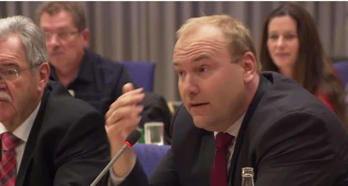 Er wird wieder angriffslustig: CSU-Stadtrat Christian Schlegl. Foto: Stadt Regensburg