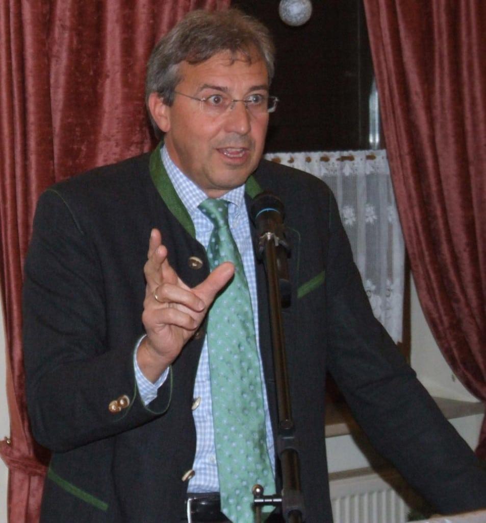 Auch der CSU-Kreisvcorsitzende Franz Rieger übertreibt es bislang nicht mit der Transparenz. Foto: Archiv