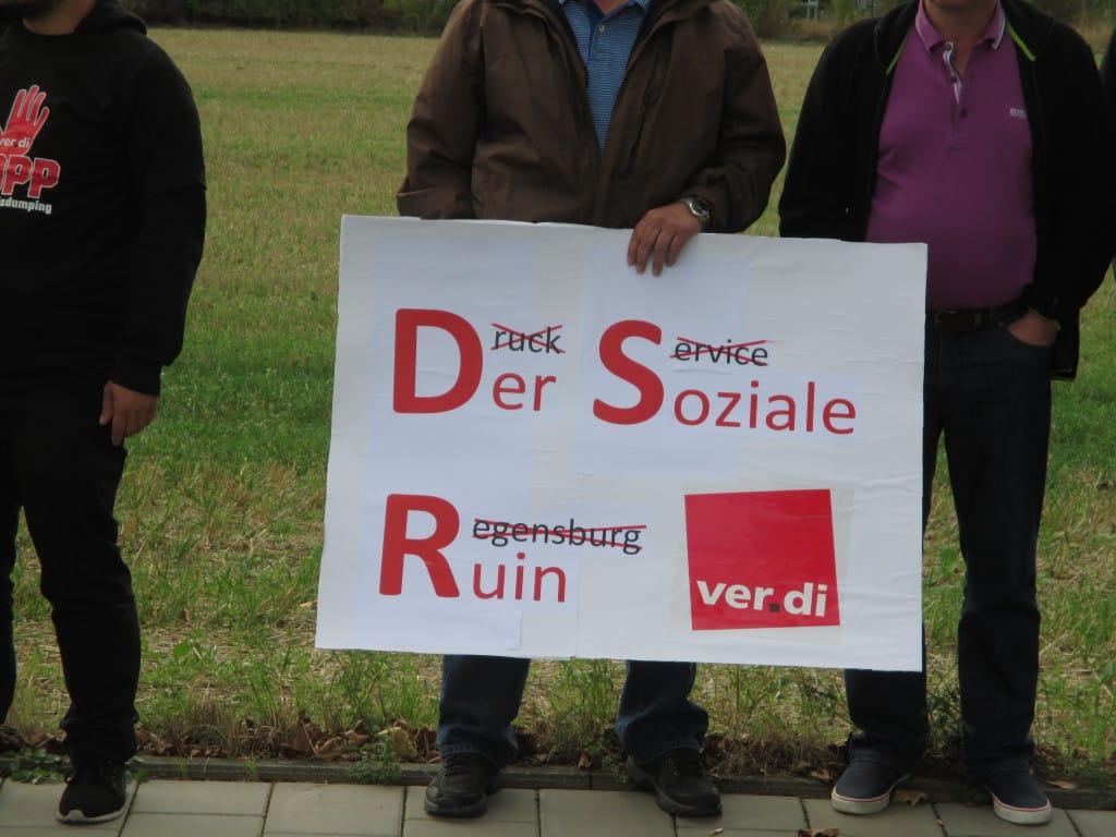 """Die """"Druckservice Regensburg GmbH"""": eine MZ-Tochter-Tochter mit kurzer Lebensdauer. Foto: Archiv/ as"""