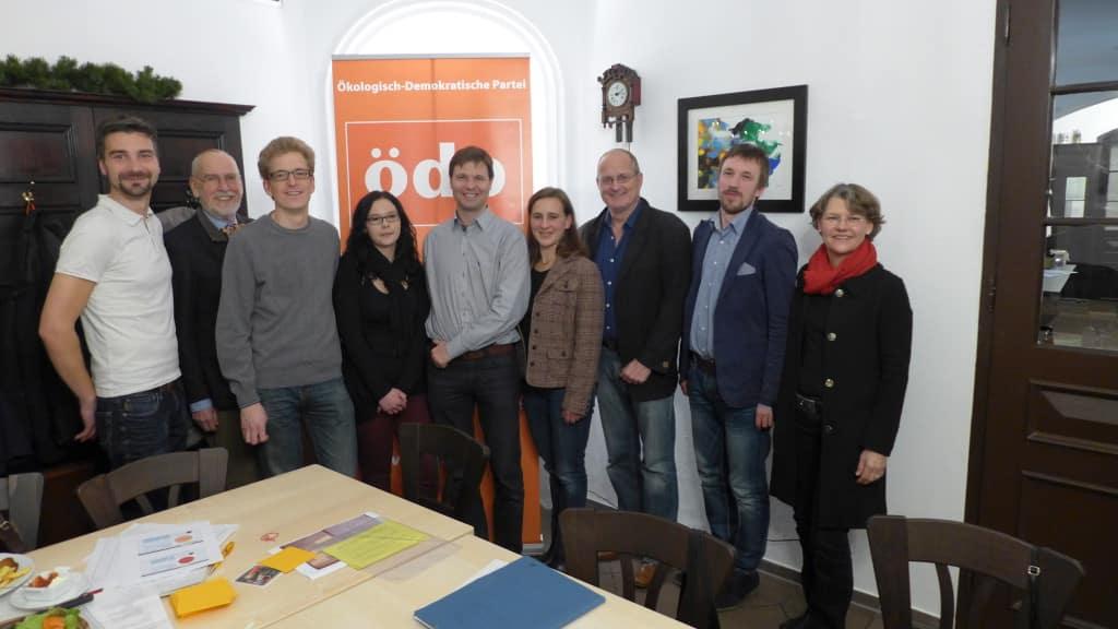 Hannes Eberhardt, Joachim Graf, Florian Reif, Nadine Schuller, Cornelius Herb, Astrid Lamby, Albert Sinzger, Benedikt Suttner, Beate Strohmeier