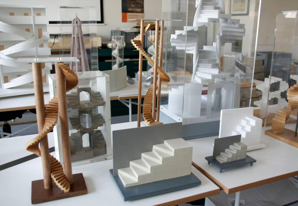 Interessante Exponate des Treppeninstituts der OTH Regensburg sind von 20. Oktober bis 17. Dezember im Historischen Salzstadel in Regensburg ausgestellt. 2014 war das Treppeninstitut der OTH Regensburg bei der Architektur-Biennale in Venedig zu sehen. Foto: OTH Regensburg