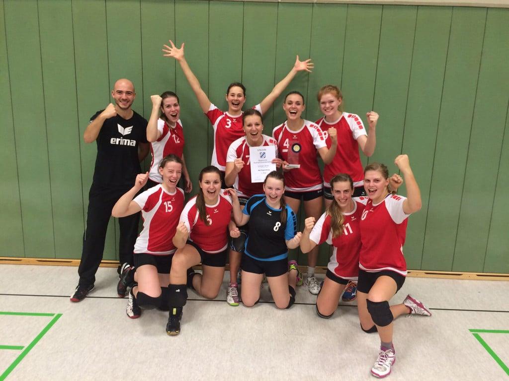 Das Meisterteam der Universität Regensburg Foto: Hochschulsport, Universität Regensburg
