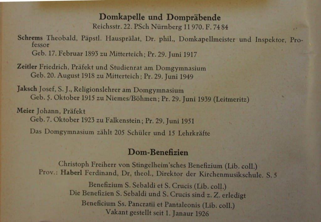 Der Schematismus von 1955.