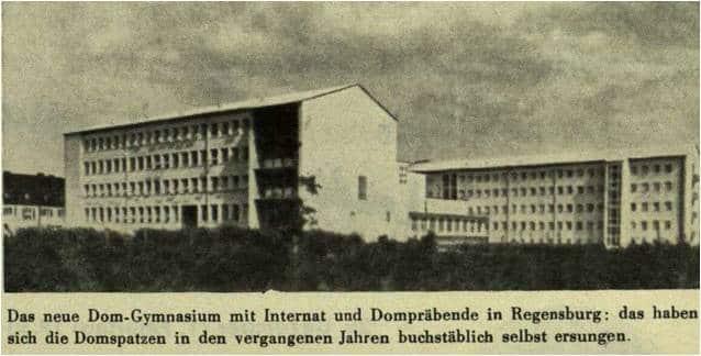 Auszug eines Programmhefts von 1955. Foto: privat